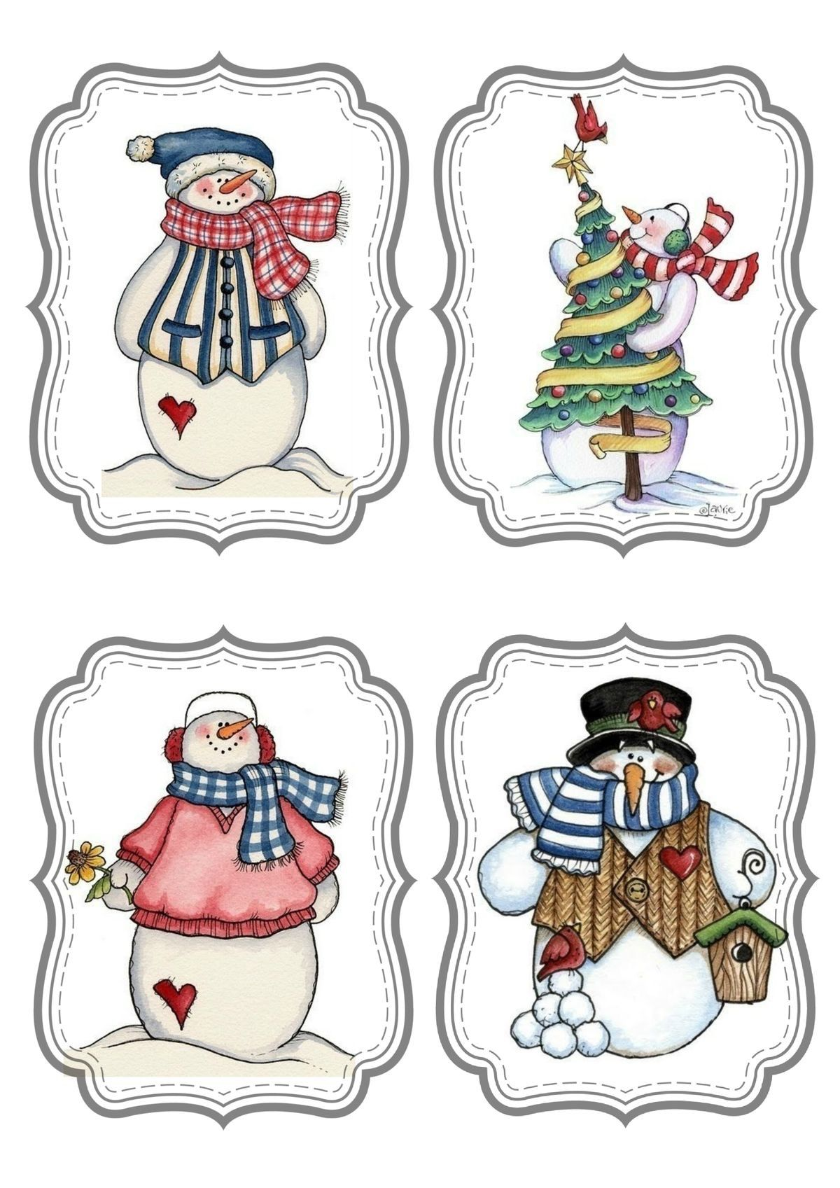 Christmas Clipart Printables Tag Pictures Ideas Diy Decorations Holiday Crafts Free Paper
