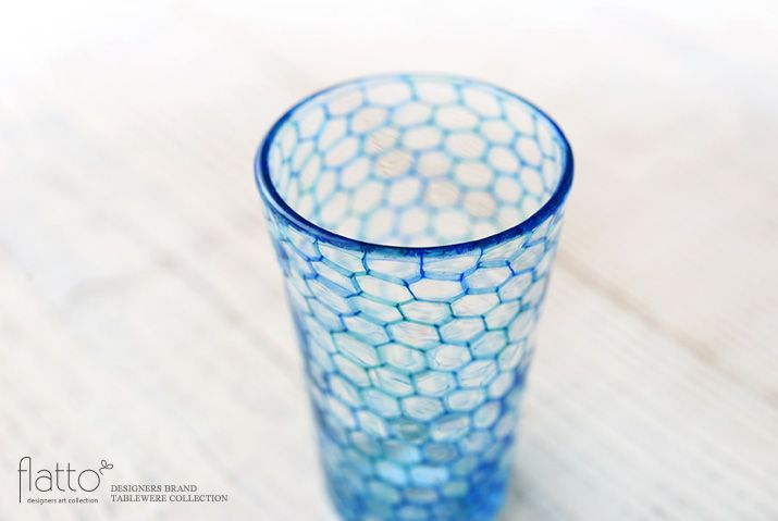 イロアミショットグラス(B)/作家「吉村桂子」/和食器通販セレクトショップ「flatto」
