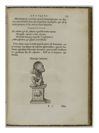 Les illustres observations antiques, par Gabriel Siméon FLORENTIN - Musée national de la Renaissance (Ecouen)