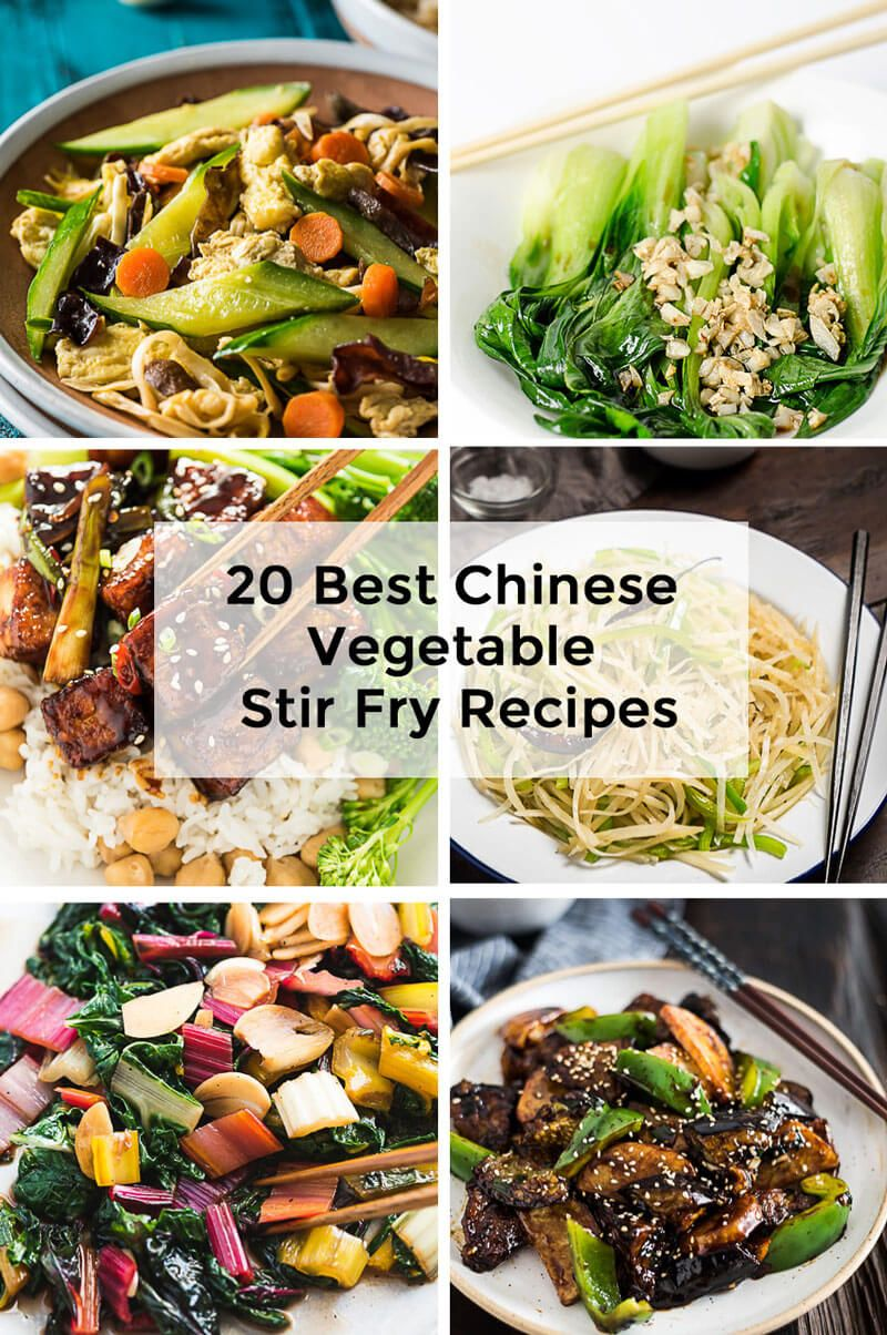 20 Best Chinese Vegetable Stir Fry Recipes Here Is How To Eat More Vegetables Less Meat And Fewer Carbs But Still Have A Tas Chinese Vegetables Chinese Vegetable Stir Fry