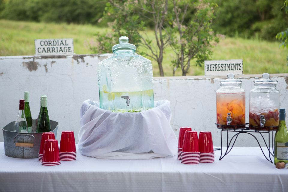 Refreshment Table Refreshments Table Table Decorations Rustic Wedding