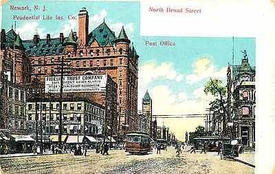 New Jersey Life Insurance Quotes Simple Newark New Jersey 1908 Prudential Life Insurance Co Post Office