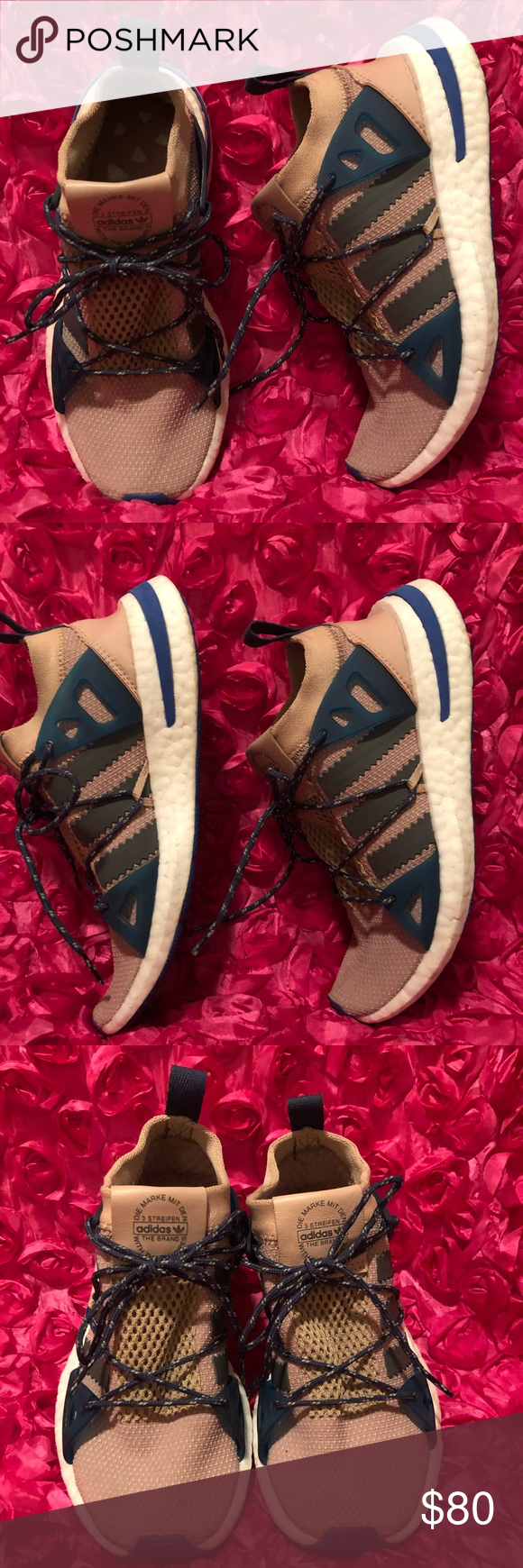 1d3f567580fd Adidas Arkyn Colorblock Mesh Sneaker