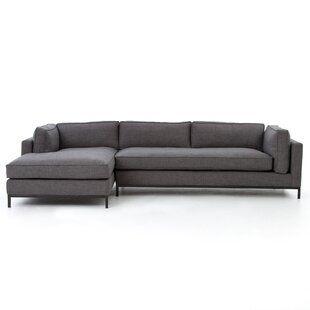 Liberty 84 Reversible Sleeper Sofa Chaise Joss Main In 2020 Sectional Chaise 2 Piece Sectional Sofa Sectional Sofa