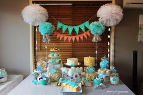 Little Big Company | The Blog: Noah's Ark Themed Baby Shower by PAPERplayground