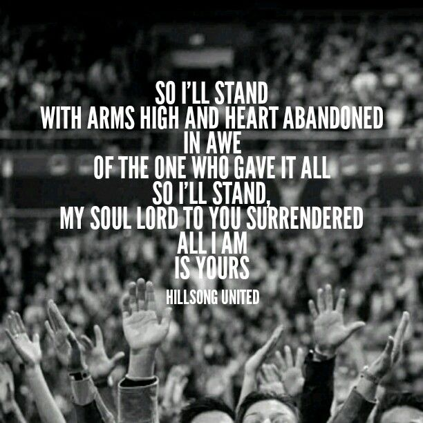 I stand with arms wide and heart abandoned