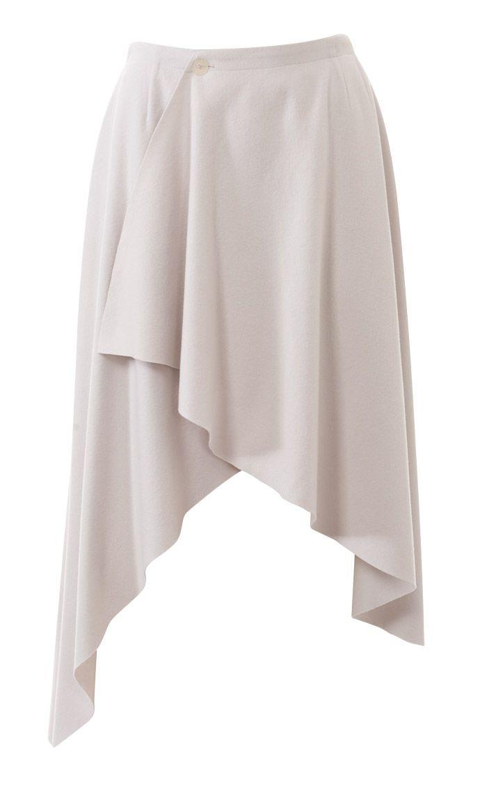 юбка в складку с жакетом