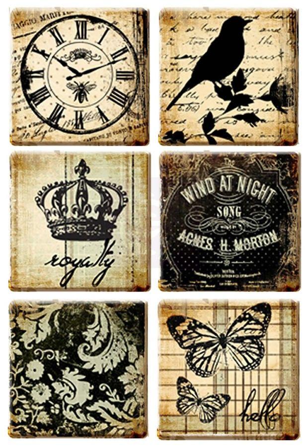 Art Tiles - Printery by Prima Marketing