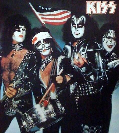 Kiss America Vintage Kiss Kiss Rock Bands Kiss Band