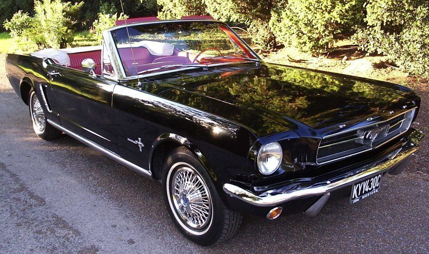 1965 ford mustang convertible and coupe wedding car hire american rh pinterest com