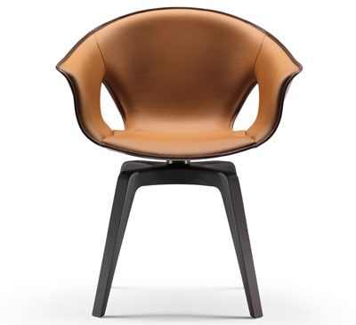 Ginger Chair by Roberto Lazzeroni for Poltrona Frau ...