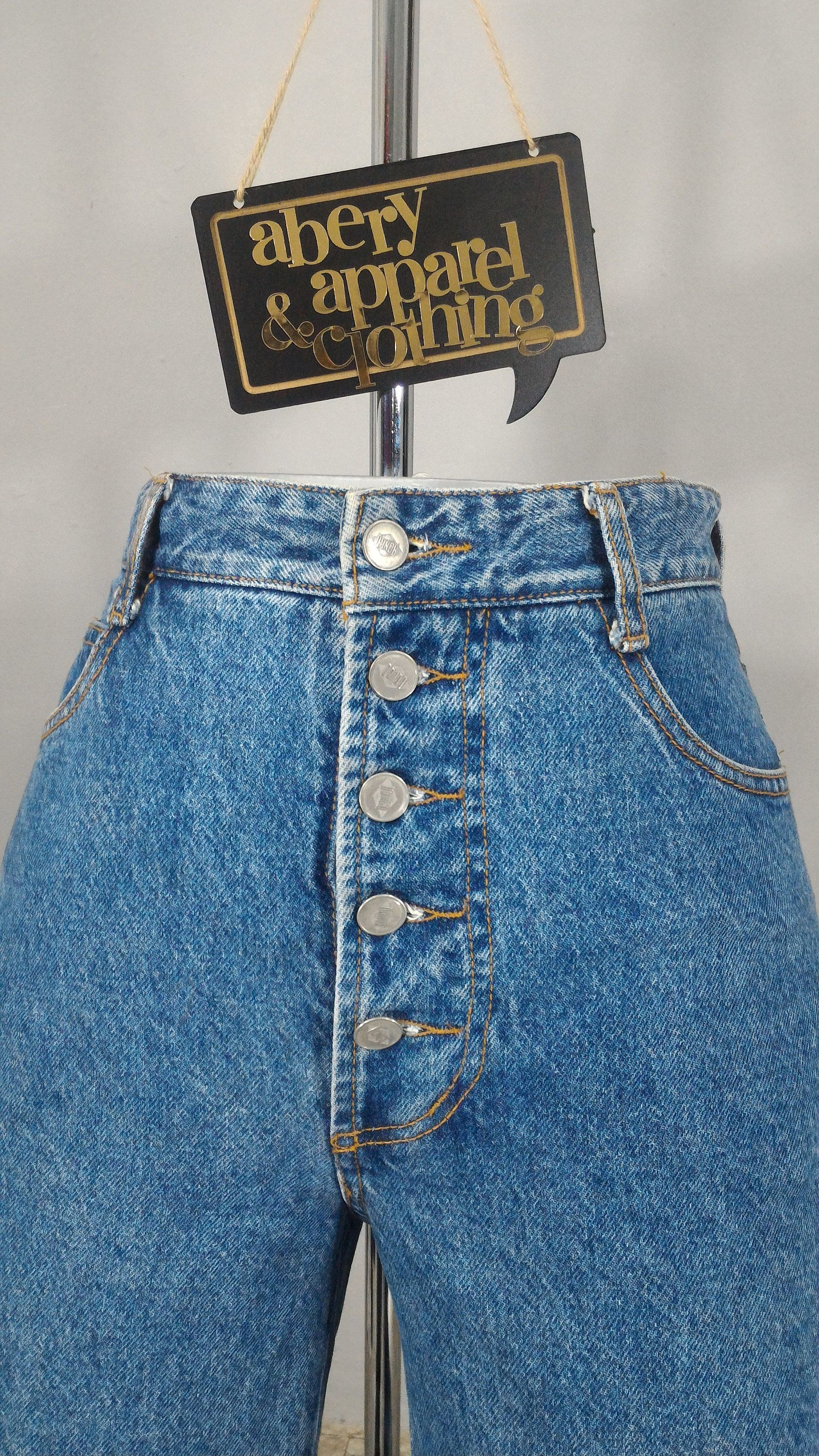 button up jeans womens mom jeans