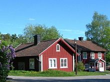 Falu Red Or Falun Is The Name Of A Swedish Deep Paint Well Known For Its Use On Wooden Cottages And Barns History Can Be