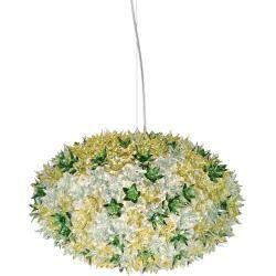 Kartell Bloom Pendelleuchte, mittlere Ausführung, kugelförmig, lavendel (transparent)Nostraforma.com #frühlingblumen