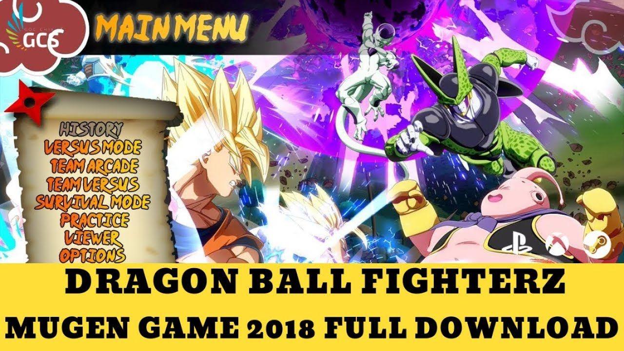 DRAGON BALL FIGHTERZ MUGEN 2018 - FULL DOWNLOAD | dragon
