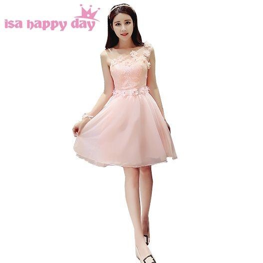 beautiful light pink juniors simple girls sweet 16 graduation high ...