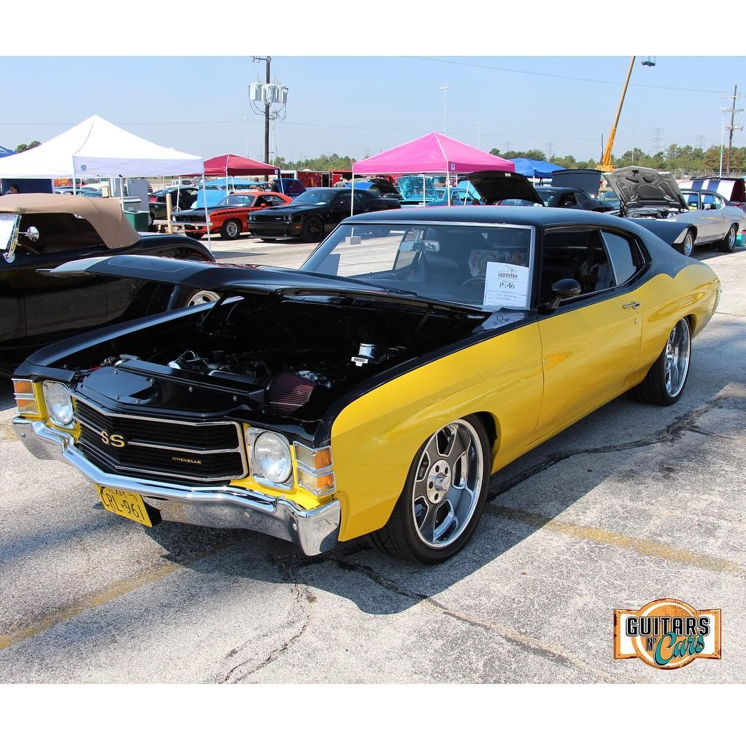71 chevelle #becauseSS black and yellow | Chevelle Non-Stock and Pro ...