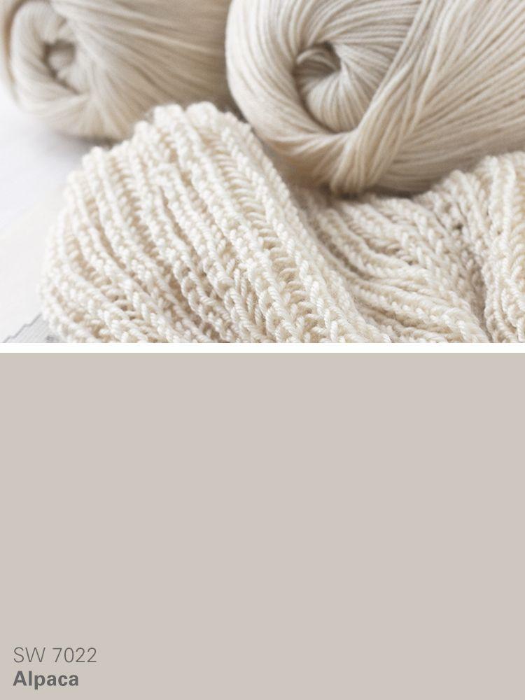 Sherwin Williams Neutral Paint Color Alpaca Sw 7022