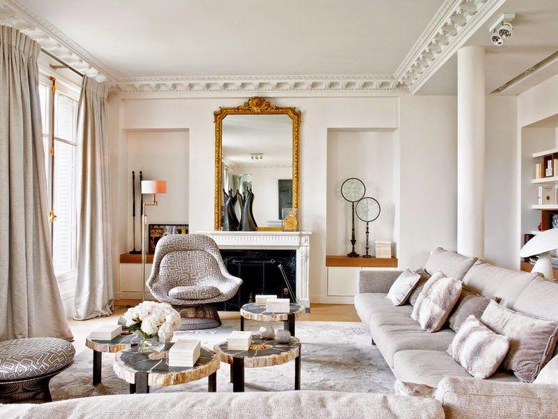 Drop Dead Gorgeous Paris Apartment Daily Dream Decor Parisian Living Room Parisian Interior French Country Living Room