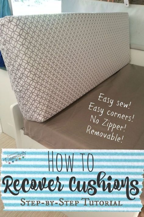Pop Up Camper Remodel New Cushions Camper Cushions