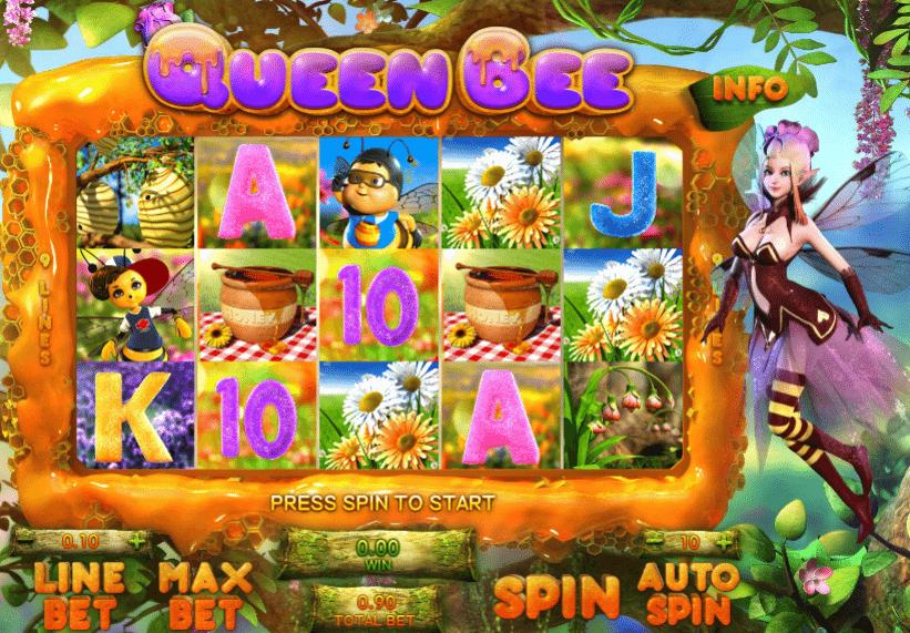 Queen Bee Slot Machine