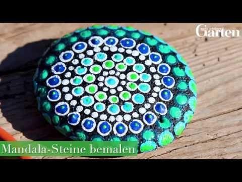 Mandala Steine Bemalen Diy Gartendeko Mein Schoner Garten
