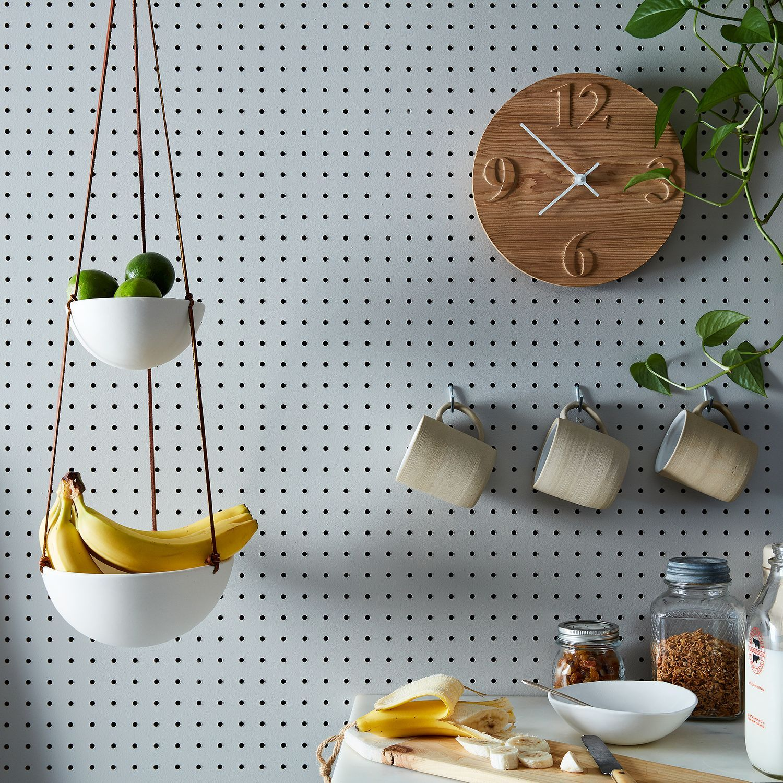 Hanging Two-Tiered Ceramic Fruit Basket | Wishlist | Pinterest ...