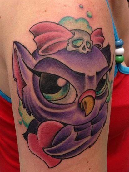 New School Owl Tattoo Tattoo Designs Tattoos Tattoo Designs Owl