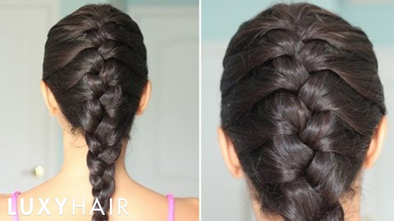 French Hairstyles Alluring How To Basic French Braid  Youtube  Hair  Pinterest  French