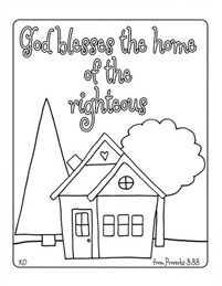 Adorable Christian Bible Coloring Pages