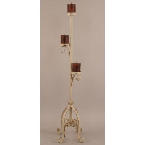Found it at Wayfair - Rustic Living Iron Candlestick