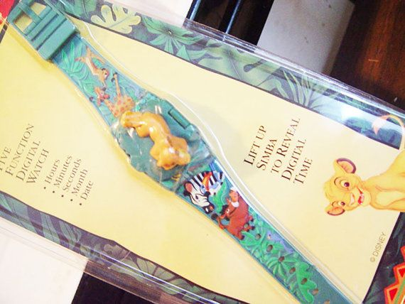 Disney Lion KIng Wristwatch New in Package by VintageUpcycled