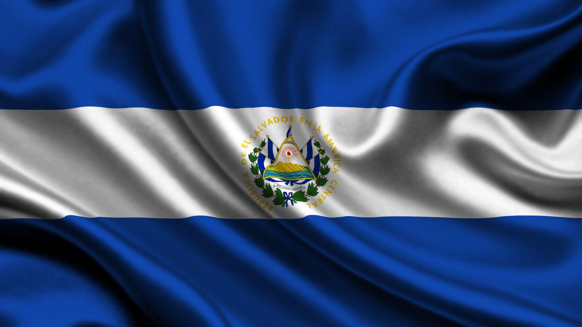 El Salvador Flag Wallpaper El Salvador Flag Netherlands Flag Flags Of The World