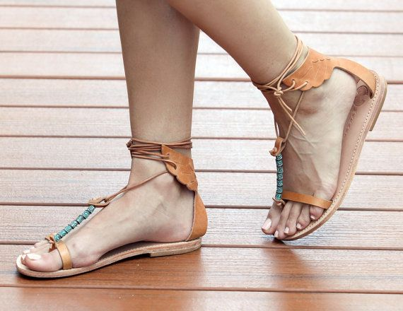 LAST ONE On SALE size 39 Cyprus Womens Leather Sandal An all