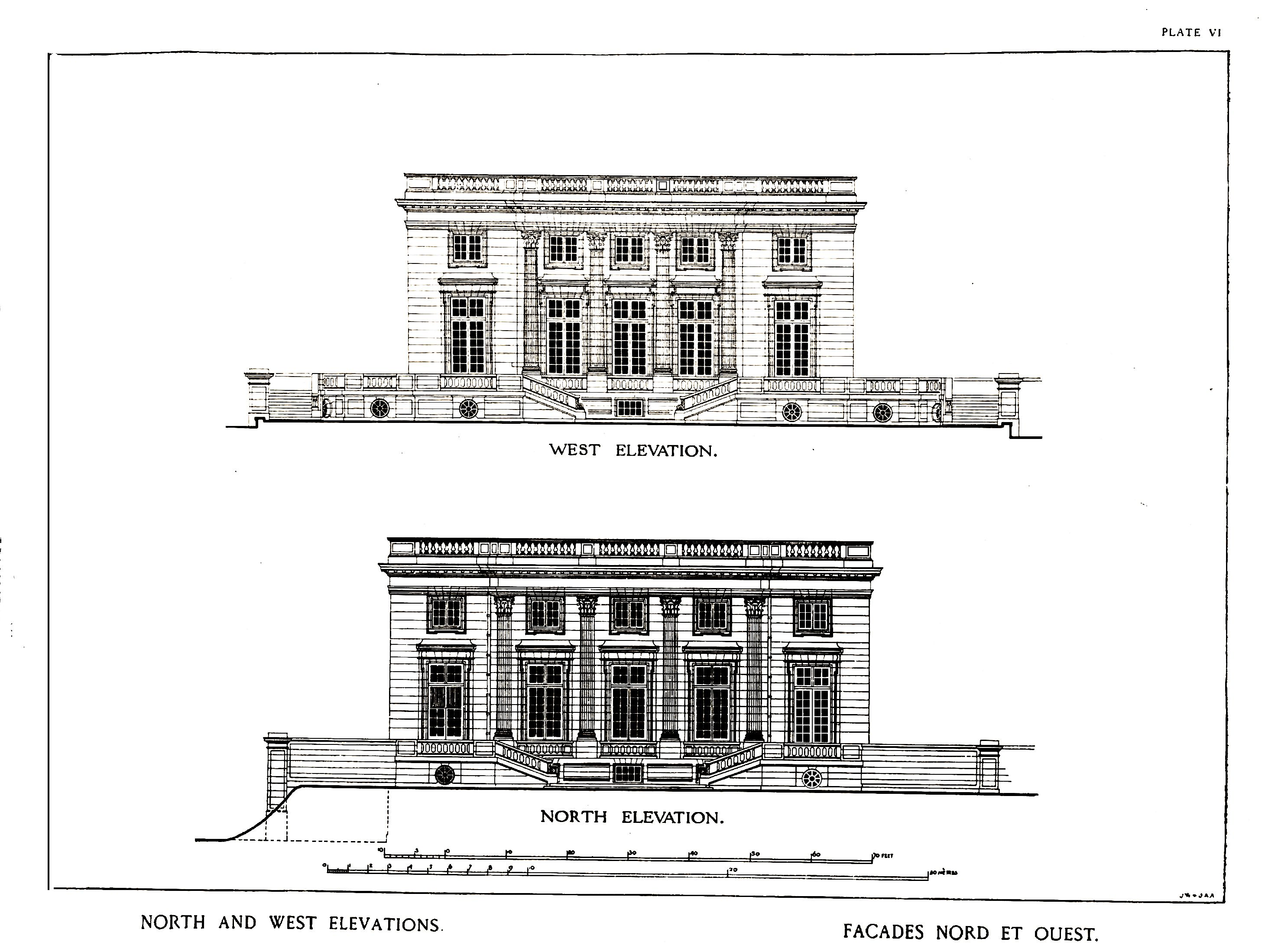 Petit trianon versailles architecte ange jacques for Architecte versailles