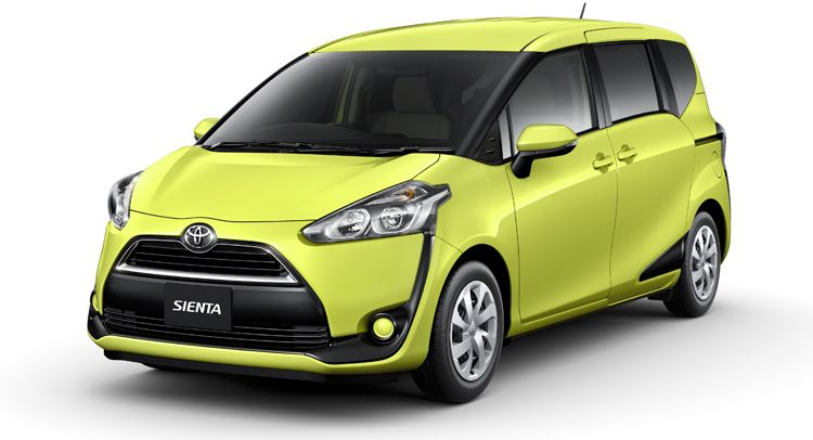 All New Toyota Sienta Compact Minivan Unveiled In Japan Mini Van Compact Minivan Toyota