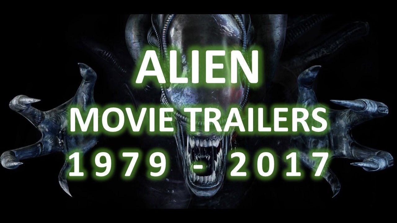 Alien franchise trailers 1979 2017