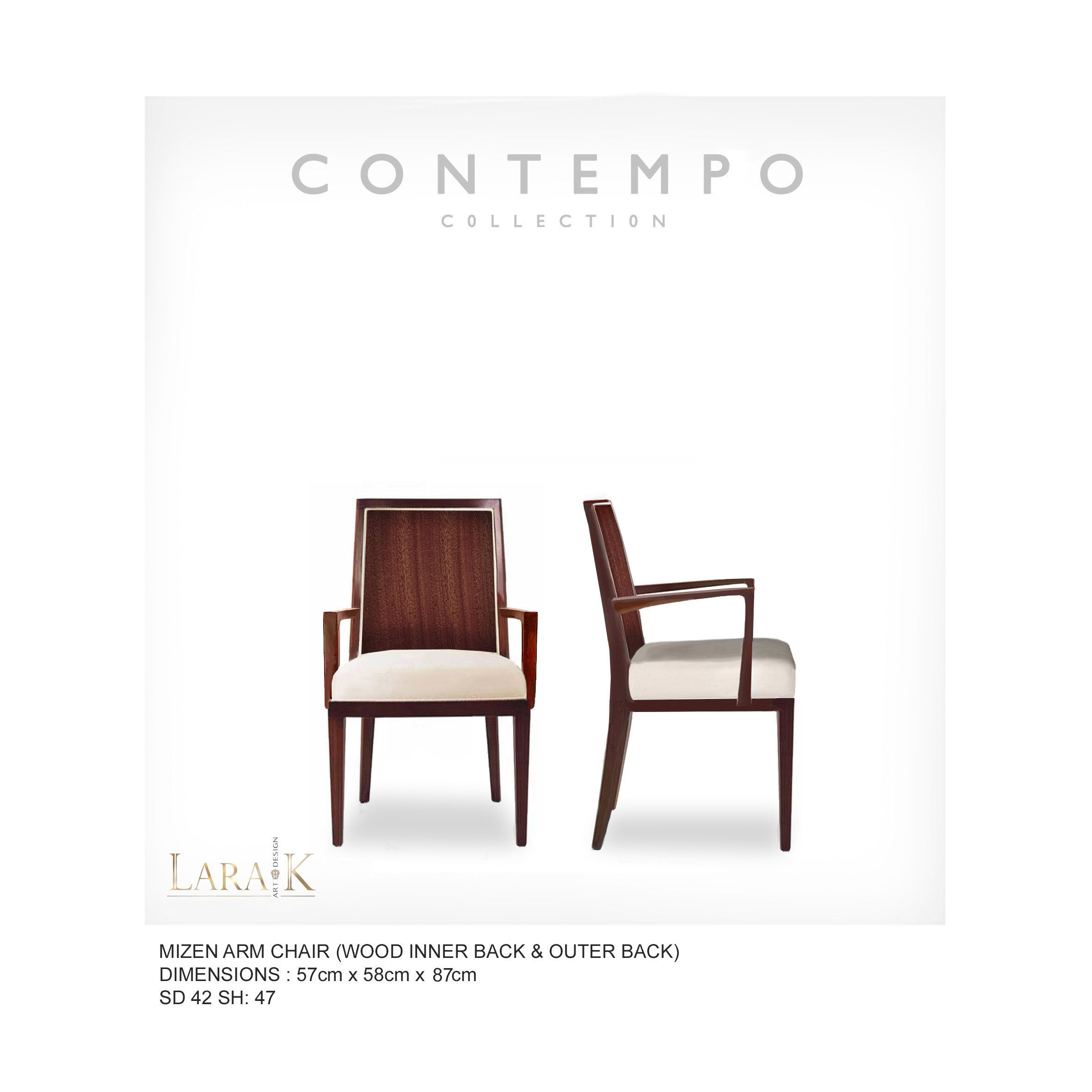 Dr Mizen Dining Arm Chair Wb The Contempo Collection Was Created