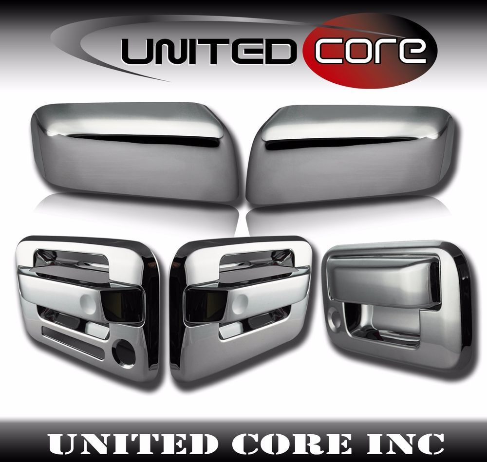 Ford F150 Chrome Door Handle Cover Side Mirror Cover Tailgate Handle Cover 04 08 Ebay Ford F150 Ford F150