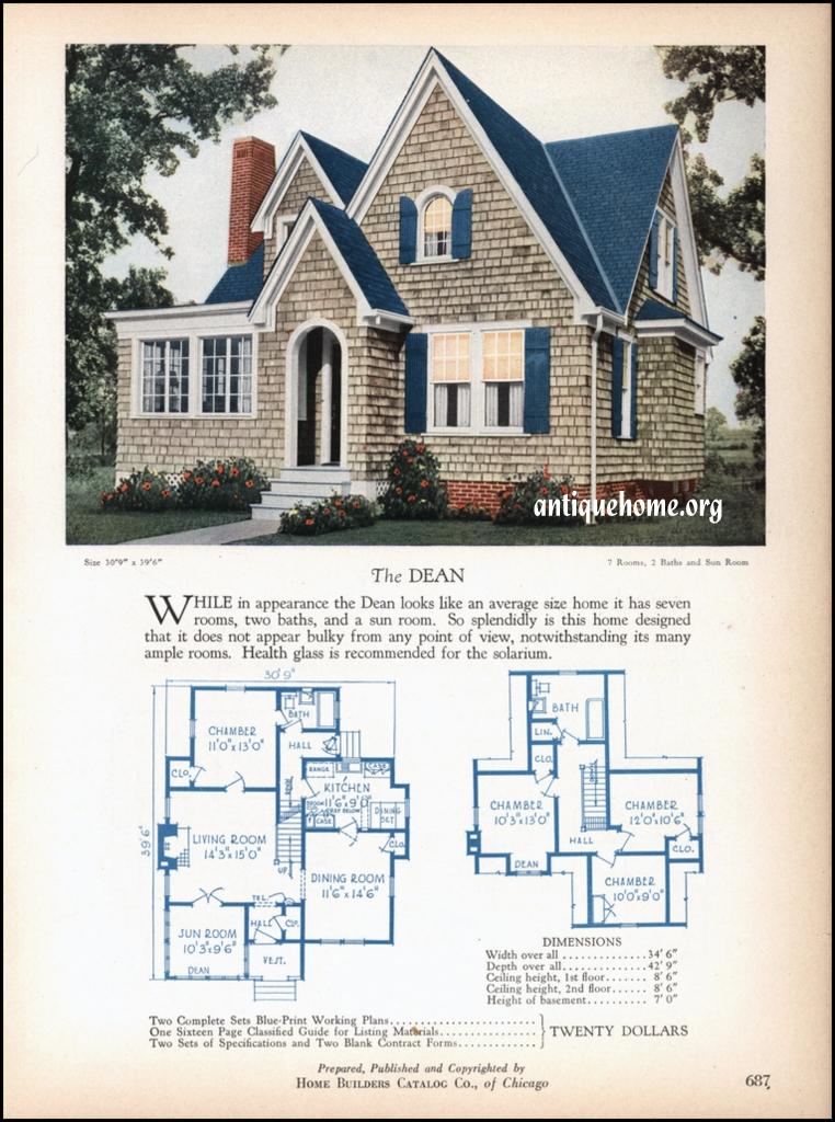 1928 Home Builders Catalog