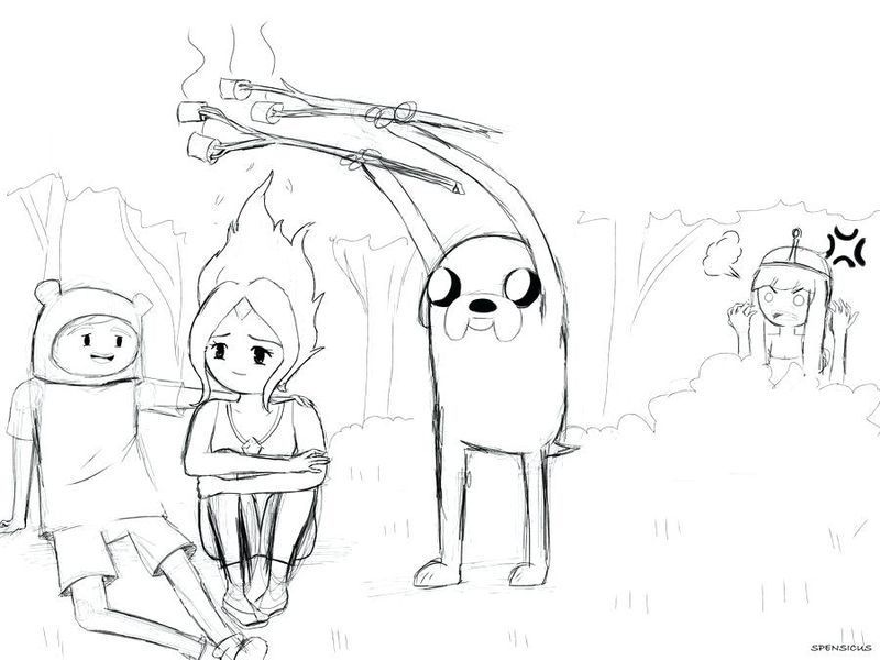 Adventure Time Coloring Pages Flame Princess Printable In 2020 Adventure Time Coloring Pages Cartoon Coloring Pages Princess Coloring Pages