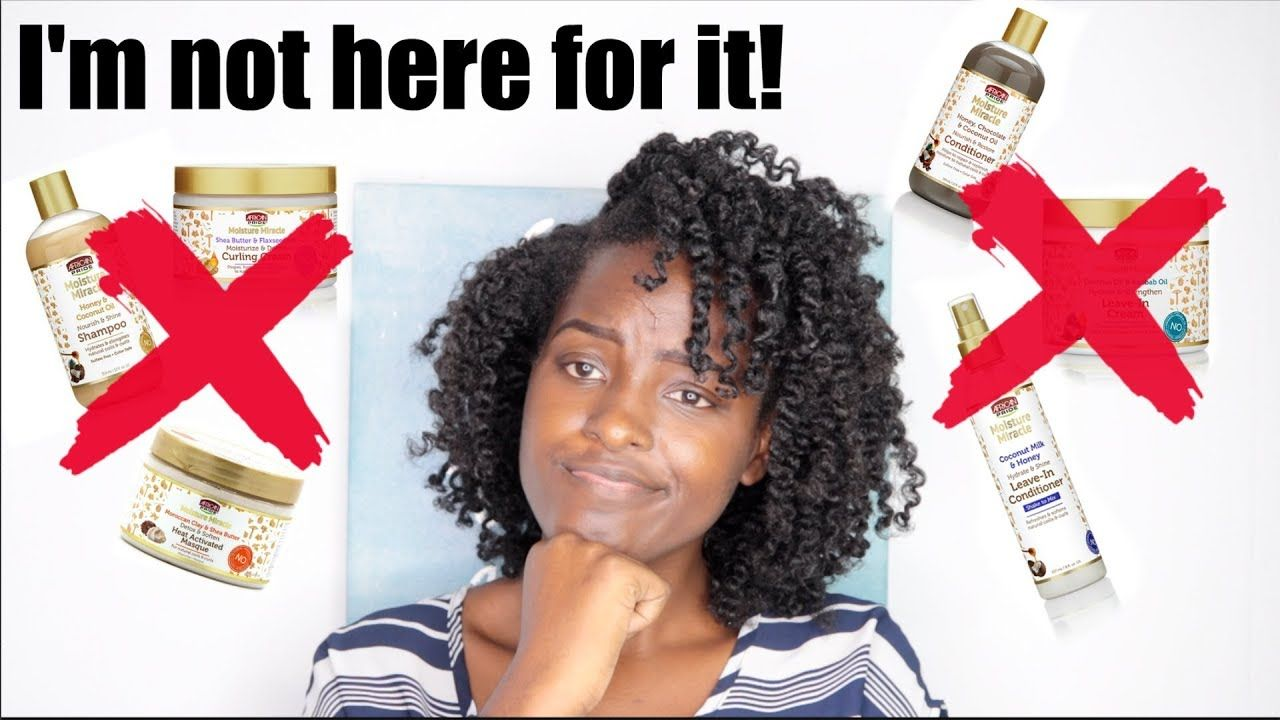 DISAPPOINTED!!! African Pride Moisture Miracle Product