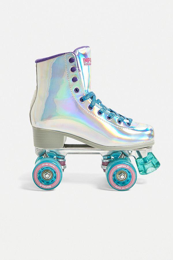 Impala Rollerskates Holographic Quad Roller Skates Roller Skate Shoes Roller Skates Vintage Roller Skating Outfits