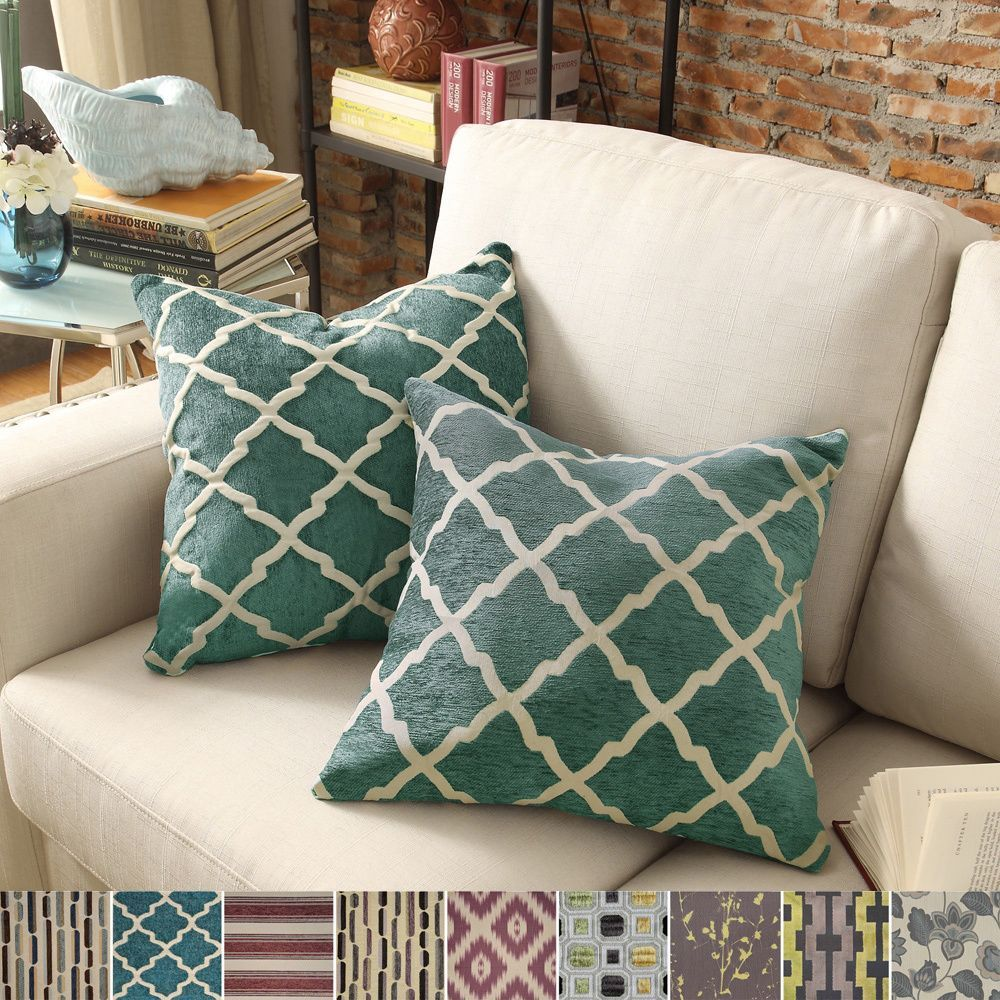 Inspire q montvale inch toss accent pillow set of shopping