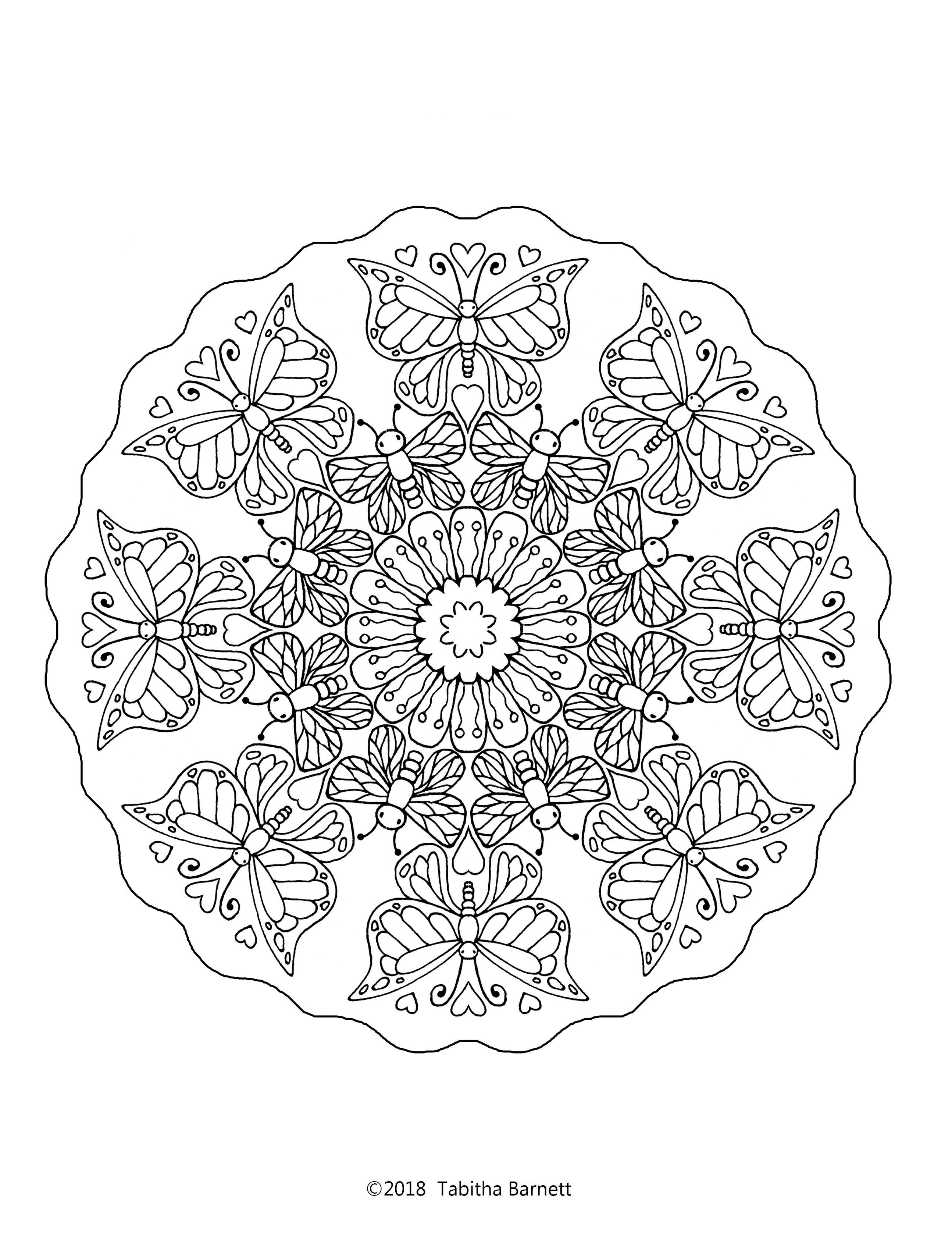 Grab This Free Page And Please Follow Me On Facebook And Pinterest Tangle Art Coloring Books Coloring Pages