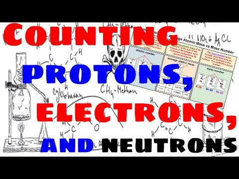 Counting Subatomic Particles Protons Neutrons And Electrons