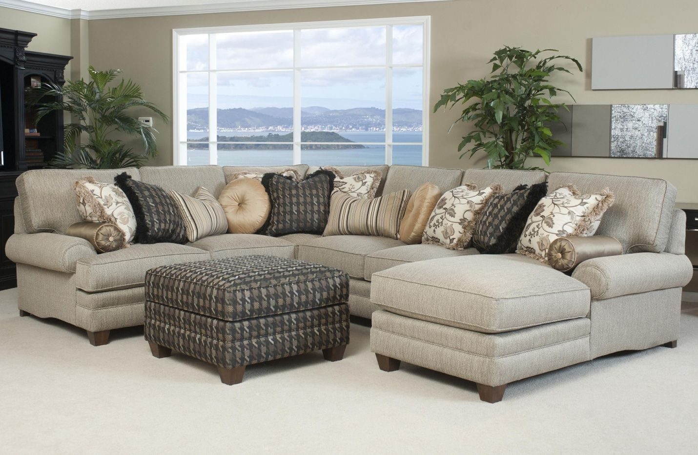 Superior Traditional Fabric Sectional Sofas   Most People Take Pride In Decorating  Our House To The Finest Of Our Ability. The Furnit