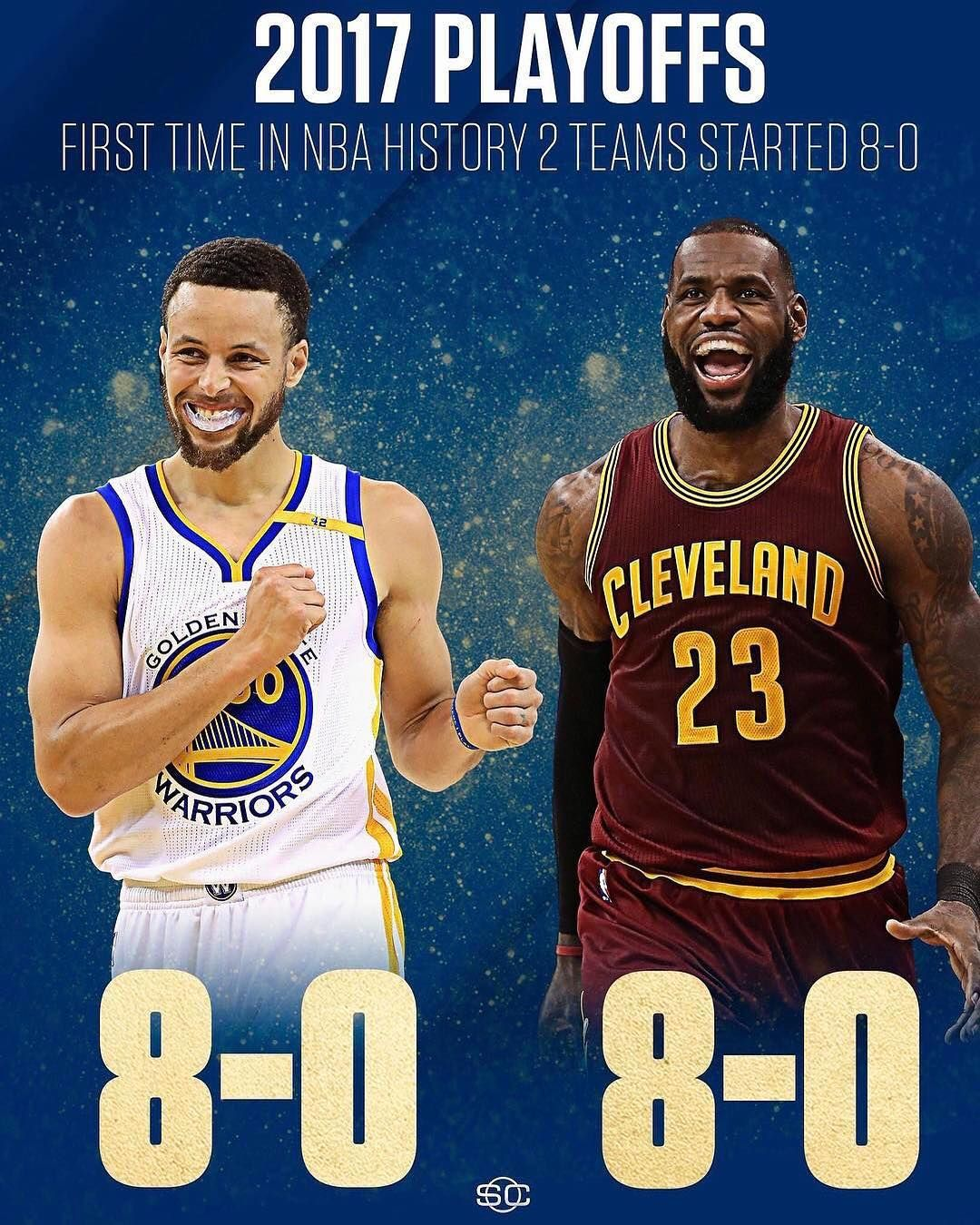 Can anyone stop the Warriors and Cavs? (via @sportscenter)