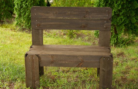 Incredible Brown Rustic Bench Garden Bench Entryway Bench Rustic Gmtry Best Dining Table And Chair Ideas Images Gmtryco