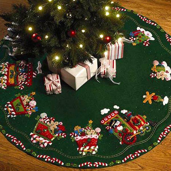 Bucilla 86158 table runners navidad elegante pies de - Arboles de navidad elegantes ...